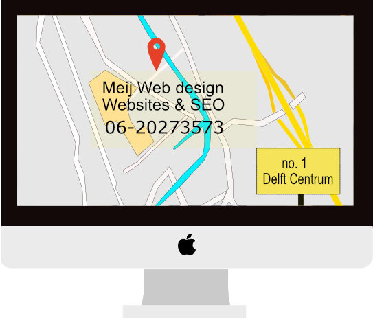 local SEO met Meij webdesign Delft