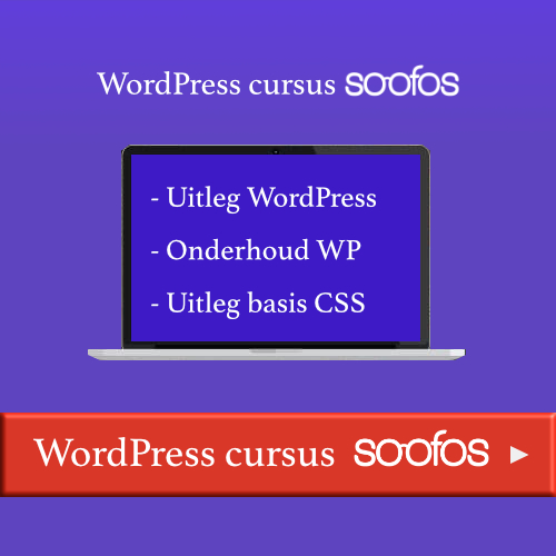 Soofos WordPress cursus