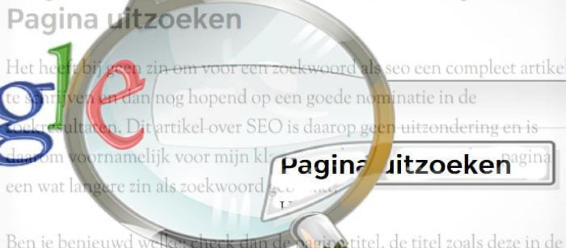 pagina seo door meij web design